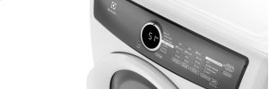 RED HOT BUY! Front Load Perfect Steam Electric Dryer with 7 cycles - 8.0 Cu. Ft.