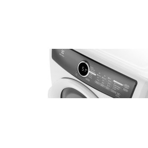 Front Load Perfect Steam Electric Dryer with 7 cycles - 8.0 Cu. Ft. - FLOOR MODEL