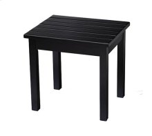 End Table in Black Matte