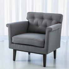 Emerywood Chair-Wool Flannel-Ash