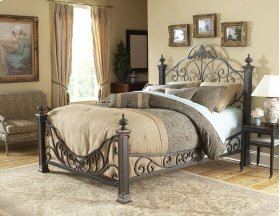 Baroque Bed - Available in Queen Size, King Size, and Cal King Size.
