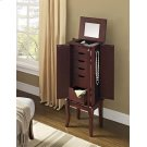 Marseilles Java & Mirror Jewelry Armoire Product Image