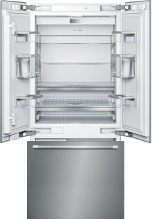 36-Inch Built-in Panel Ready French Door Bottom Freezer