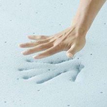 """Relax 2"""" Twin Gel Memory Foam Mattress Topper"""