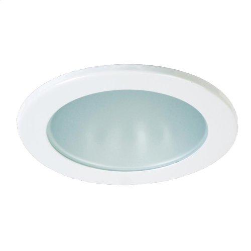 TRIM,4 INCH SHOWER FLAT GLASS - White