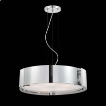 5-LIGHT PENDANT - Chrome