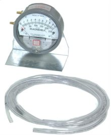"PRESSURE GAUGE 1"" OF WATER"