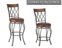 "Wallen Swivel PU Barstool 17""x20""x46"" [1pc/ctn]"