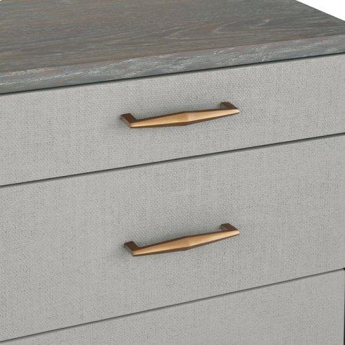 Corinna 5 Drawer Chest - Grey