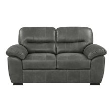 Emerald Home Nelson Loveseat Charcoal U3472-01-03