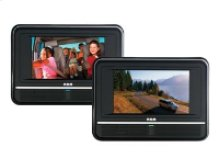 """Twin Mobile DVD System with 7"""" Screens"""