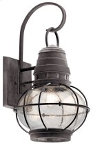 "Bridge Point 26.25"" 1 Light Wall Light Weathered Zinc Product Image"