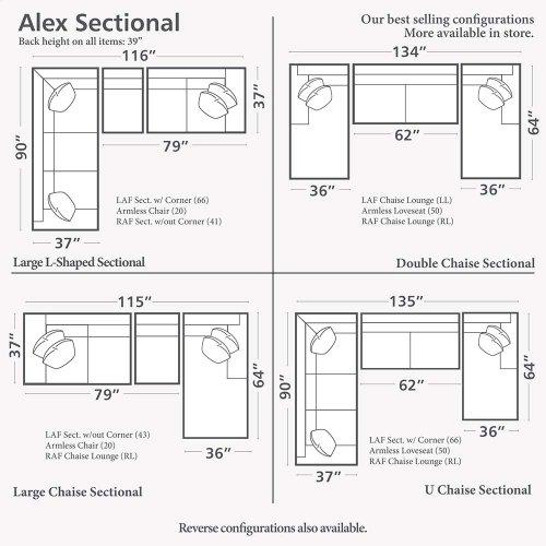 Alex U-Shaped Sectional