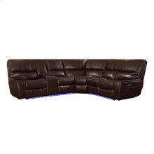 3-Piece Modular Reclining Sectional with LAF Console