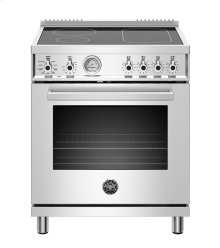 "30"" Professional Series range - Electric oven - 4 induction zones"
