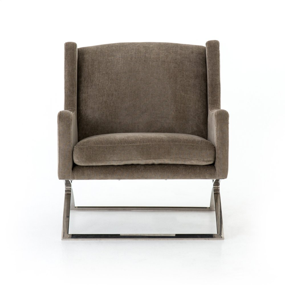 Silver Sage Cover Roslyn Chair