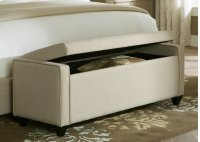 Bed Bench - Natural Linen Product Image