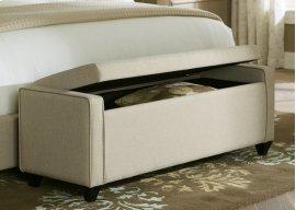 Bed Bench - Natural Linen