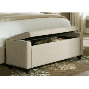Bed Bench - Dark Grey Linen