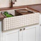 Workstation Basketweave Farmhouse Sink Product Image