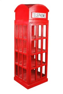 Sunset Trading Cottage English Phone Booth Cabinet - Sunset Trading