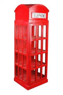 Sunset Trading Cottage English Phone Booth Cabinet - Sunset Trading