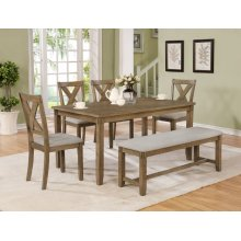 Clara 6 Piece Dining Set