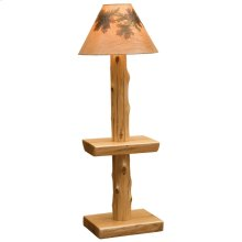 Floor Lamp - Natural Cedar