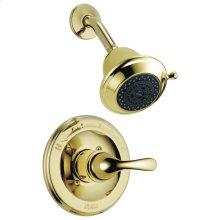 Polished Brass Monitor ® 13 Series Shower Trim