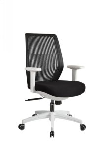Modrest Bayer Modern Black & White Office Chair