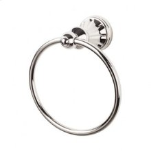Hudson Bath Ring - Polished Nickel
