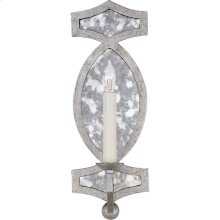 Visual Comfort NW2011VS-AM Niermann Weeks Brittany 1 Light 5 inch Venetian Silver with Antique Mirror Sconce Wall Light, Niermann Weeks