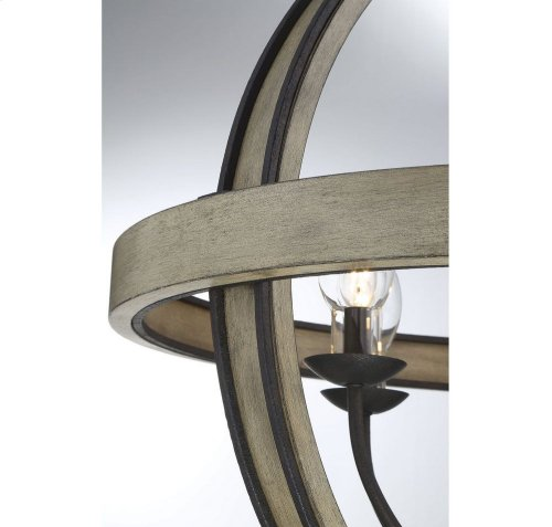 Westport 6 Light Outdoor Pendant