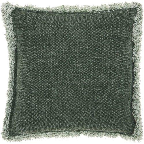 "Life Styles E0450 Green 20"" X 20"" Throw Pillows"