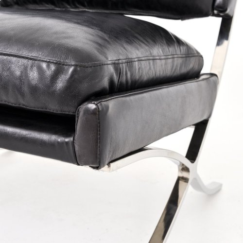 Heathrow Lounge Chair-rider Black