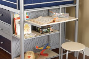 Universal Junior Loft w/ Desk and Stool