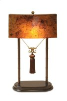 TABLE LAMP W/PENSHELL SHADE Product Image
