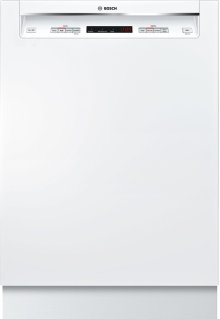 """24"""" Recessed Handle Dishwasher 300 Series- White SHE53TF2UC"""