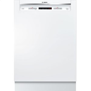"Bosch24"" Recessed Handle Dishwasher 300 Series- White SHE53TF2UC"
