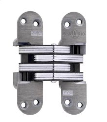 Model 218FR Fire Rated Invisible Hinge Unplated
