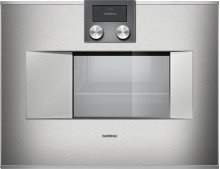 """400 series Combi-steam oven BS 470 611 Stainless steel-backed full glass door Width 24"""" (60 cm) Right-hinged"""