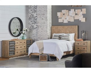 Herringbone Bedroom