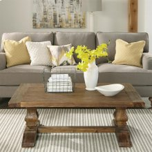 Hawthorne - Coffee Table - Barnwood Finish-Floor Sample