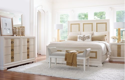 Tower Suite - Pearl Finish Dresser