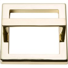 Tableau Square Base and Top 2 1/2 Inch - French Gold