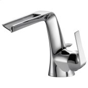 Single-handle Lavatory Faucet With Channel Spout