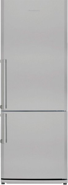 "27"" 15 cuft bottom freezer fridge with internal ice maker, stainless, replaces BRFB1452SSN w/ ice"