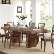 Modern Gatherings - Rectangular Dining Table Top - Brushed Acacia Finish Product Image