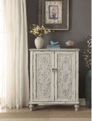 Anthology Brittney Antique White 2-Door Chest Product Image
