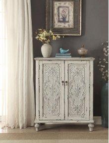 Anthology Brittney Antique White 2-Door Chest